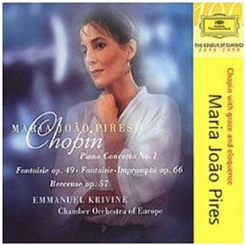 Maria João Pires Plays Chopin Con Pno Fant (2) Pires (pno) Krivine Co Of Europe
