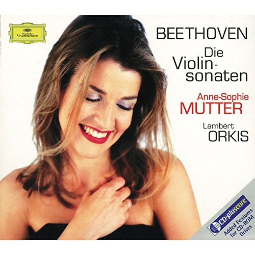 Anne Sophie Mutter Plays Beethoven Violin Sonata Mutter (vn) Orkis (pno) 4 CD