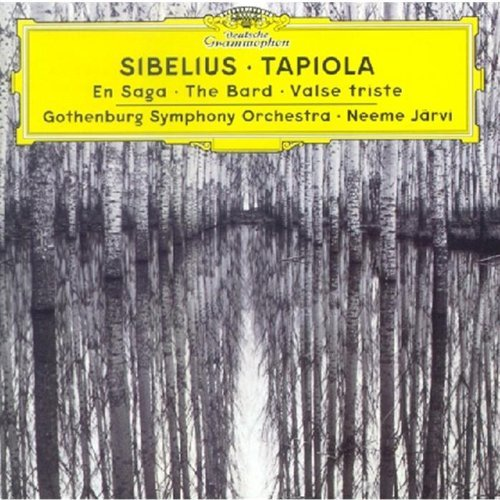 J. Sibelius Tapiola En Saga Spring Song Va Jarvi Gothenburg So