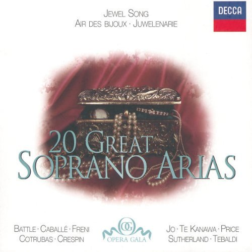 Jewel Song 20 Great Soprano Ar Jewel Song 20 Great Soprano Ar Battle Caballe Cotrubas Freni Te Kanawa Price Sutherland Jo