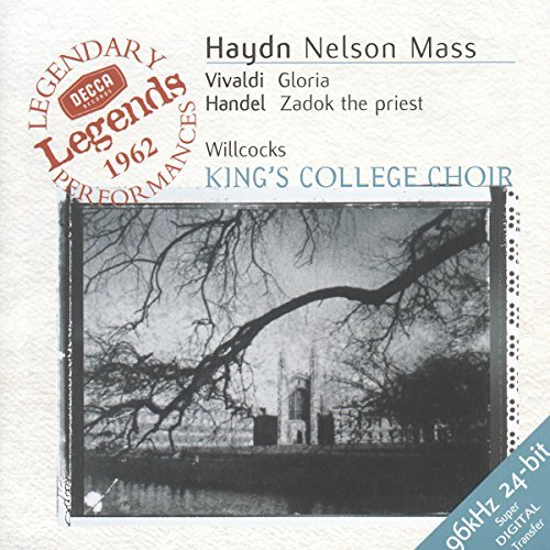 Haydn Vivaldi Handel Nelson Mass Gloria Zadok The P Stahlman Watts Brown Krause & Various