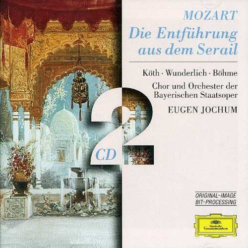 Koth Wunderlich Bohme Jochum B Mozart Abduction From The Ser Import Eu