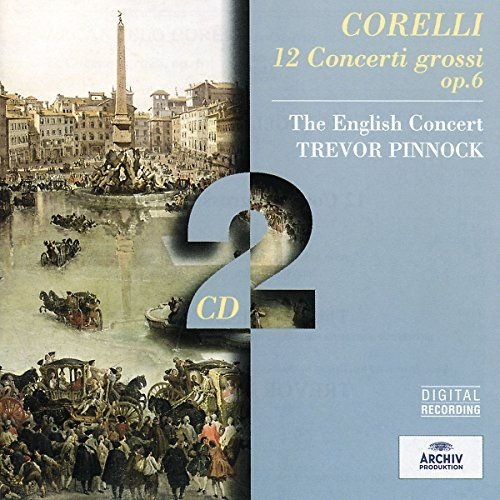 A. Corelli Con Grossi (12) 2 CD Pinnock English Concert