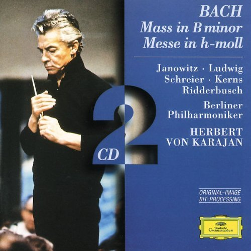 Karajan Berlin Philharmonic Or Mass In B Minor Janowitz Ludwig Schreier & Karajan Berlin Po