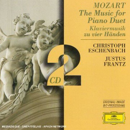 W.A. Mozart Music For Pno Duet Import Gbr
