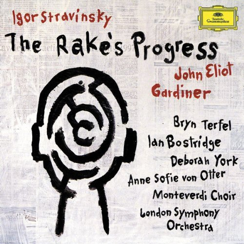 I. Stravinsky Rake's Progress Comp Opera Bostridge Terfel York Otter Gardiner London So