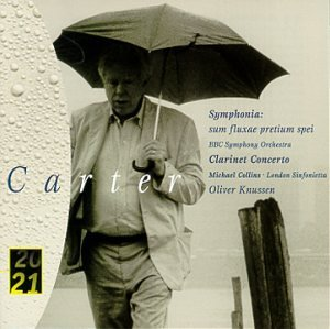 E. Carter Symphonia Con Cl Collins*michael (cl) Knussen London Sym