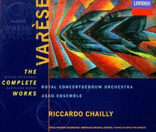 E. Varese Complete Works 2 CD Set Chailly Royal Concertgebouw Or