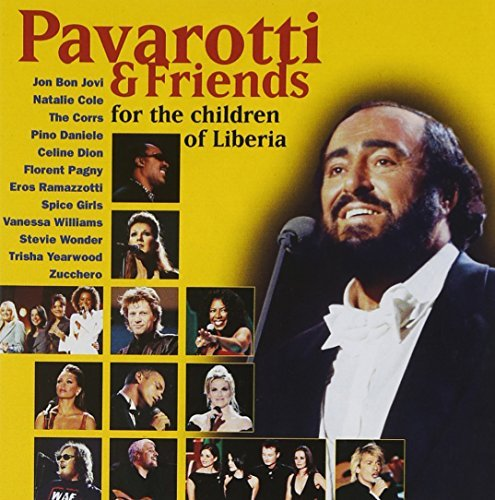 Luciano Pavarotti Pavarotti & Friends For The Ch Pavarotti Jovi Cole Wonder