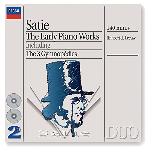 Satie E. Gymnopedies (3) Early Pno Work De Leeuw*reinbert (pno) 2 CD Set
