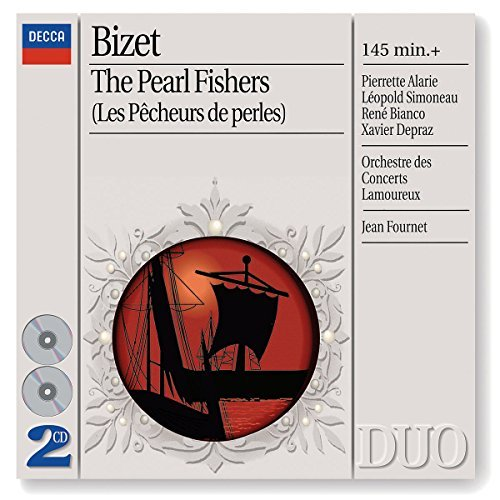 G. Bizet Pearl Fish Alarie Simoneau Four 2 CD