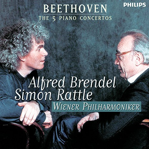 Ludwig Van Beethoven Con Pno 1 5 Brendel*alfred (pno) Rattle Vienna Po