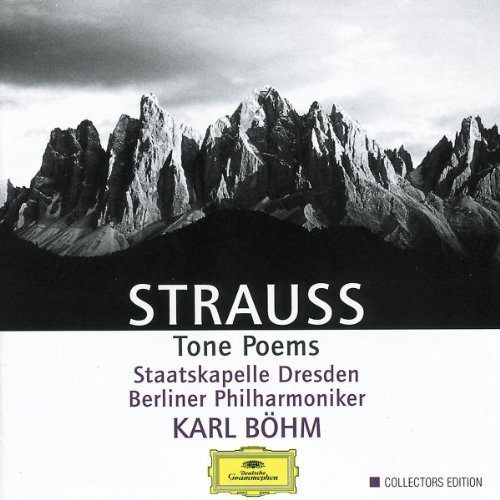 Richard Strauss Tone Poems 3 CD Bohm Various