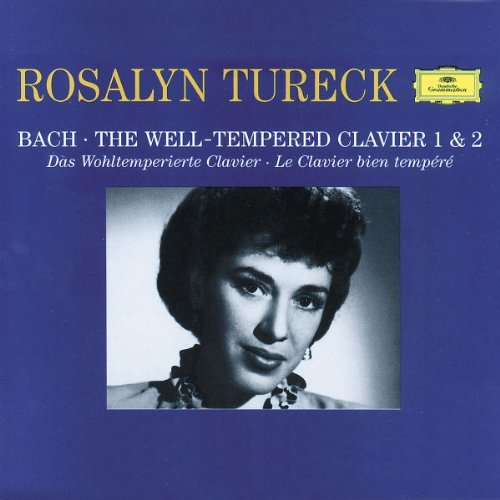 Rosalyn Tureck Plays Bach Well Tempered Clav Tureck (pno) Monaural 4 CD
