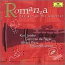 Romanza Art Of The Clarinet Romanza Art Of The Clarinet Leister Peyer Prinz Brunner & Various