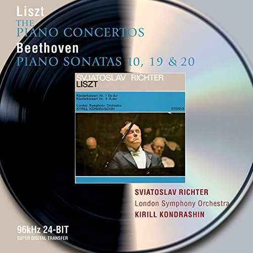Liszt Beethoven Con Pno 1 2 Son Pno 10 19 20 Richter*sviatoslav (pno) Kondrashin London So
