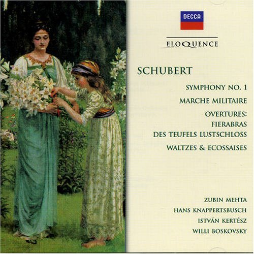 F. Schubert Sym 1 Waltzes & Ecossaises Mehta Israel Philharmonic Orch