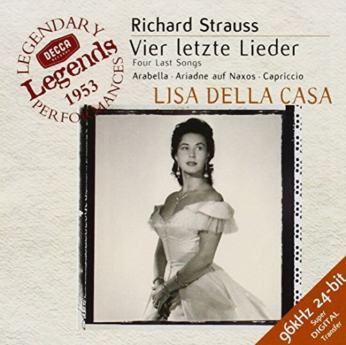R. Strauss Four Last Songs Arabella Ariad Della Casa*lisa Various