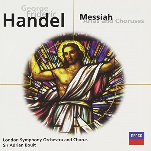 Boult London Symphony Orch. & Handel Messiah Arias & Chorus Sutherland*joan (sop) Boult London So