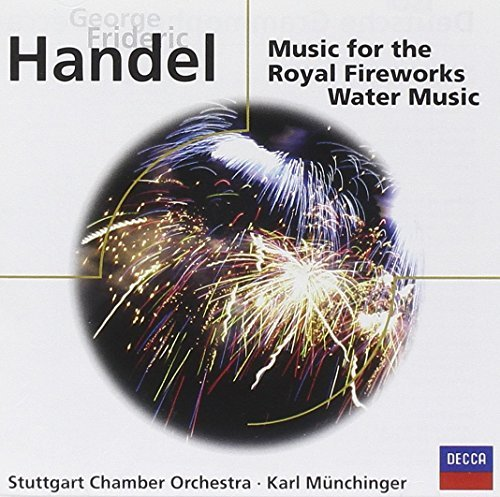 Handel G.F. Fireworks Water Music Munchinger Stuttgart Co
