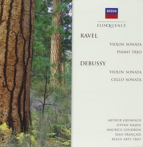 Grumiaux Beaux Arts Trio Ravel Chamber Music Debussy Import Aus