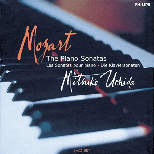 Uchida Mitsuko Plays Mozart Pno Sons Uchida (pno) 5 CD Set