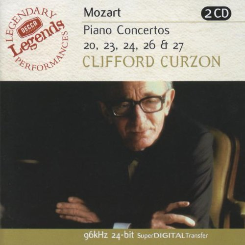 Wolfgang Amadeus Mozart Con Pno 20 23 24 26 27 Curzon*clifford (pno) Various
