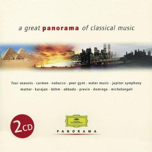 Great Panorama Of Classical Mu Great Panorama Of Classical Mu Vivaldi Handel Bach Mozart Schubert Beethoven Berlioz &