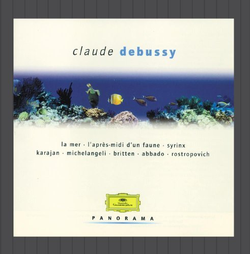 C. Debussy Qt Str Estampes Mer Richter Rostropovich Britten Tilson Thomas Boston So