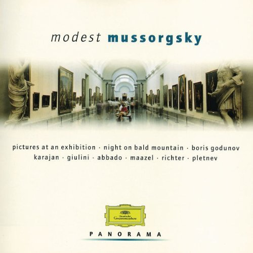 M. Mussorgsky Pictures At An Exhibition Fassbaender (sop) Richter (pno Various