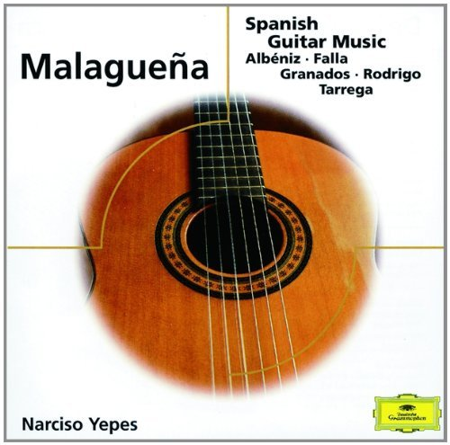 Narciso Yepes Malaguena Spanish Guitar Music Yepes (gtr)