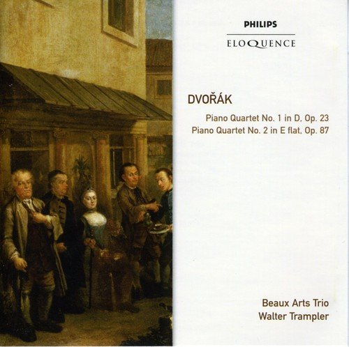 Beaux Arts Trio Dvorak Piano Quartets Import Aus