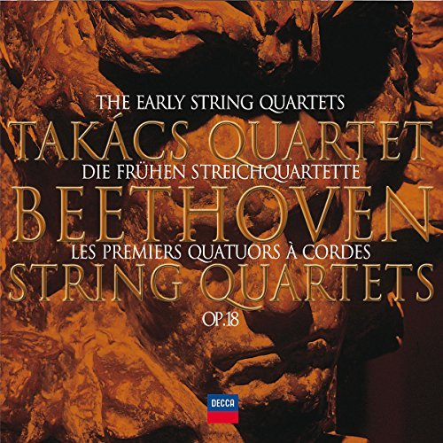 Ludwig Van Beethoven Early Quartets 2 CD Takacs Qt