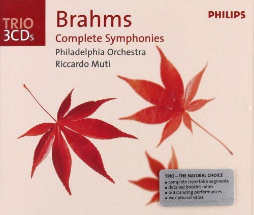 Johannes Brahms Syms 1 4 Vars On A Them By Hay 3 CD Muti Philadelphia Orch