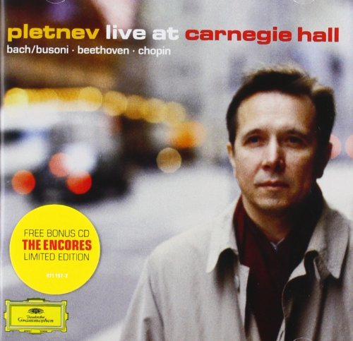 Mikhail Pletnev Live At Carnegie Hall Pletnev (pno) 2 CD Set