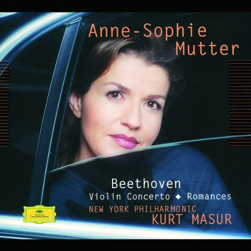 Anne Sophie Mutter Plays Beethoven Violin Concert Mutter (vn) Masur New York Po