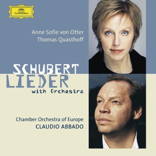 Schubert F. Lieder & Orch Von Otter*anne Sofie (mez) Abbado Co Of Europe