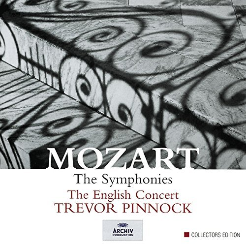 Wolfgang Amadeus Mozart Symphonies 11 CD Pinnock English Concert
