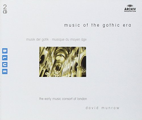 David Munrow Music Of The Gothic Era 2 CD Munrow London Early Music Cons