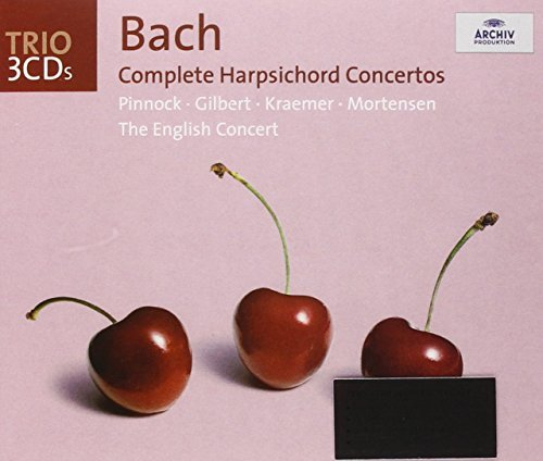Pinnock English Concert Complete Harpsichord Concertos Pinnock*trevor (hpd) English Concert