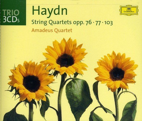 Amadeus Quartet Plays Haydn Str Qts 3 CD Set Amadeus Qt