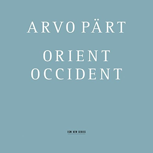 A. Part Orient Occident Kaljuste Swedish Rso