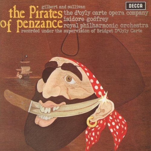 D'oyly Carte Opera Company Pirates Of Penzance 2 CD D'oyly Carte Opera Company