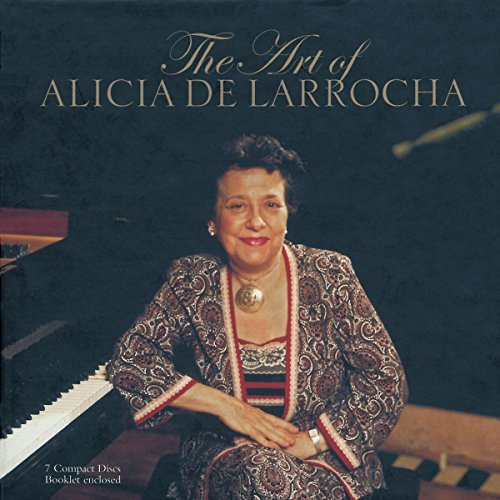 Alicia De Larrocha Art Of Alicia De Larrocha De Larrocha (pno) 7 CD