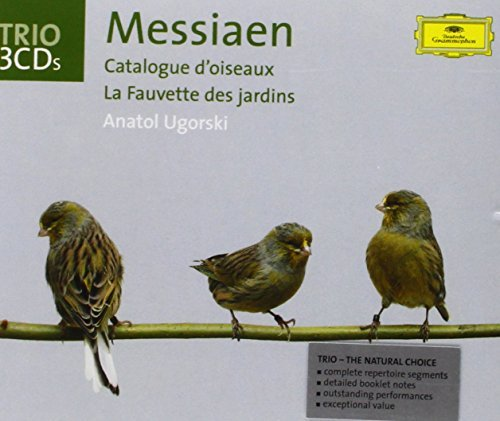 O. Messiaen Catalogue D'oiseaux Fauvette D Ugorski*anatol (pno) 3 CD