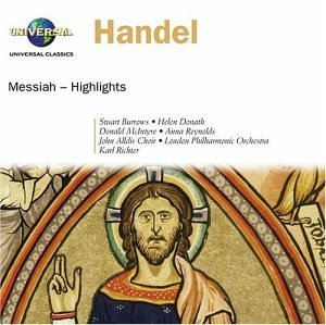George Frideric Handel Messiah Hlts Richter London Po