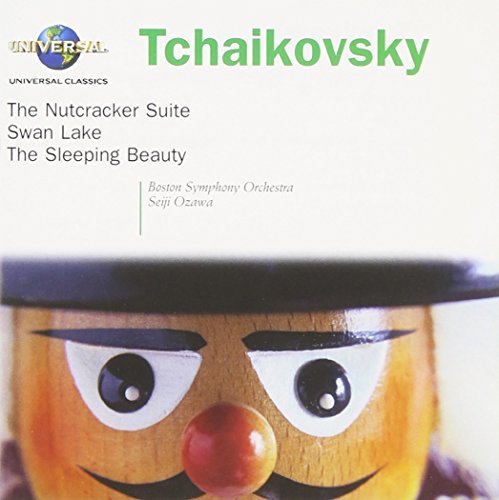 Pyotr Ilyich Tchaikovsky Nutcracker Swan Lake Sleeping Ozawa Boston So