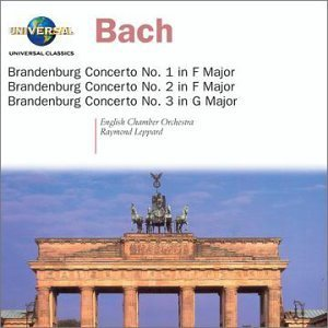 J.S. Bach Cons Brandenburg 1 3 Leppard English Co