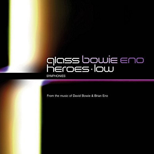 Glass Bowie Eno Heroes & Low Syms 2 CD Set Various