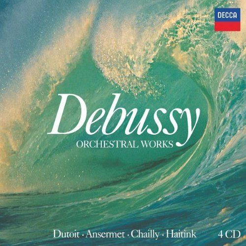 Claude Debussy Orchestral Works 4 CD